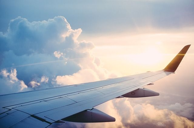 Viaggio, aereo, aeroporti, compagnie aeree, turismo- Pixabay