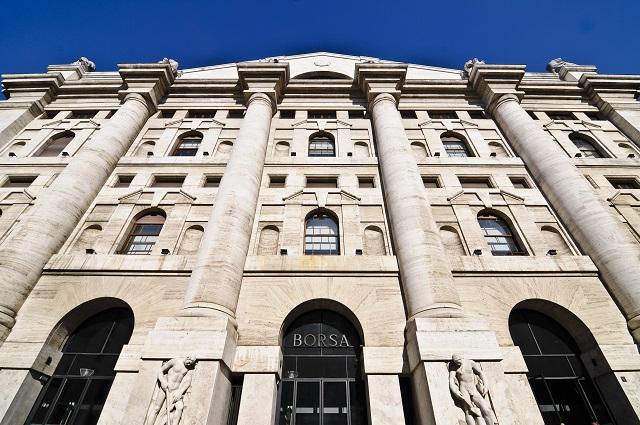 Borsa Italiana, Piazza Affari, Milano_95390419