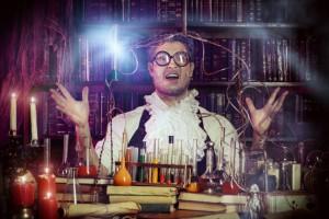 alchimista magia oro pozioni