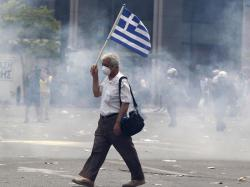 Manifestazione Grecia