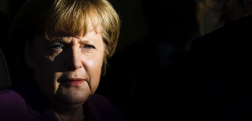 Chancellor Merkel must give up more power to save the euro.