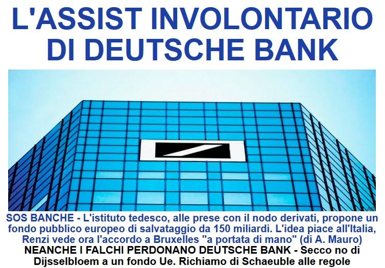 Risultati immagini per palazzo deutsche bank tempesta