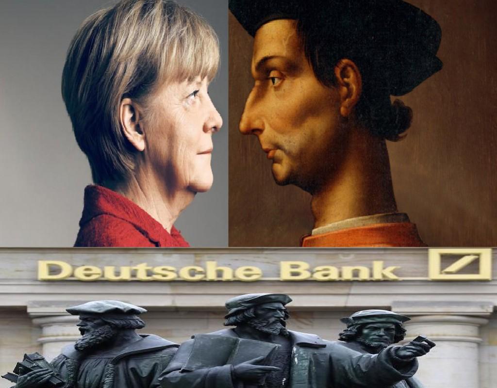 DEUTSCHE BANK: MACHIAVELLI E IL RITORNO ALLE COSE DELLA MAGNA!