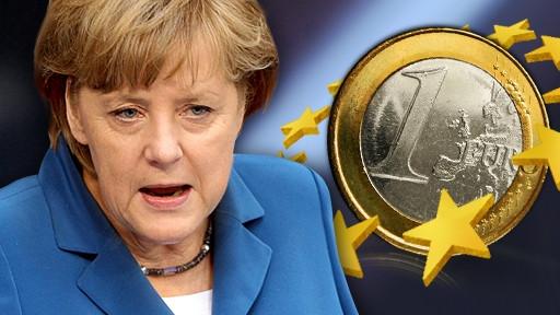 Risultati immagini per merkel euro
