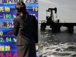petrolio crollo mercati