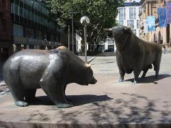 toro orso borsa francoforte