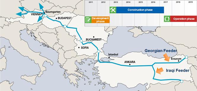 La mappa seguente ne mostra il percorso e la tempistica di