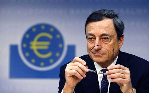 Image result for (BCE), Mario Draghi