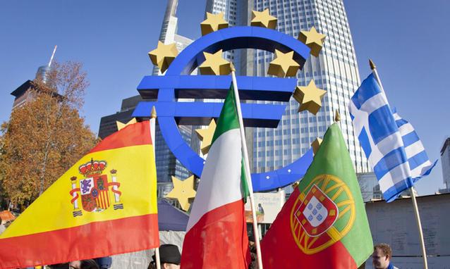 eurozona frenata economia
