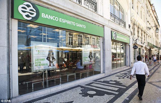 espirito santo banco crisis