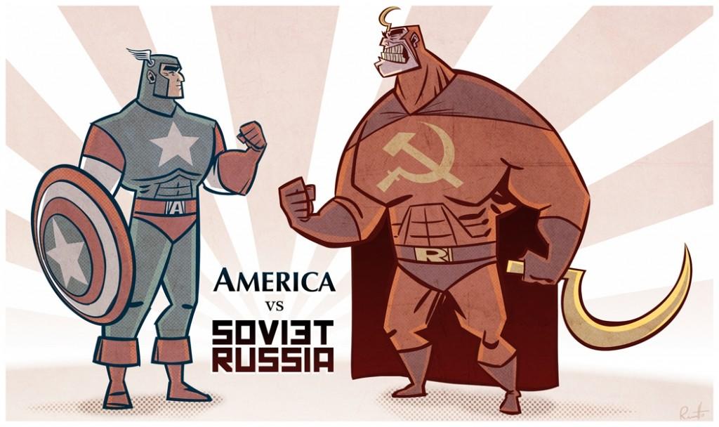 America vs Russia USA war
