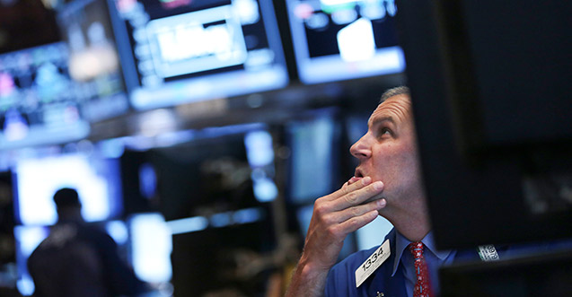 NYSE trader collapse wall street