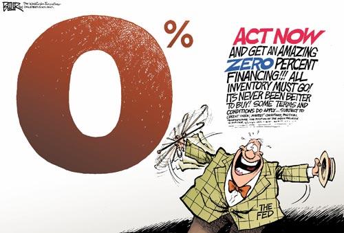 fed-rate-zero-ZIRP-interest