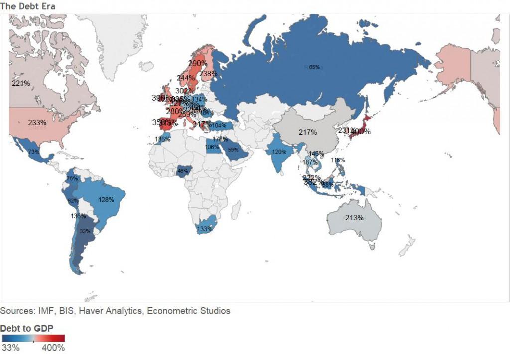 debito-aggregato-totale-mondo