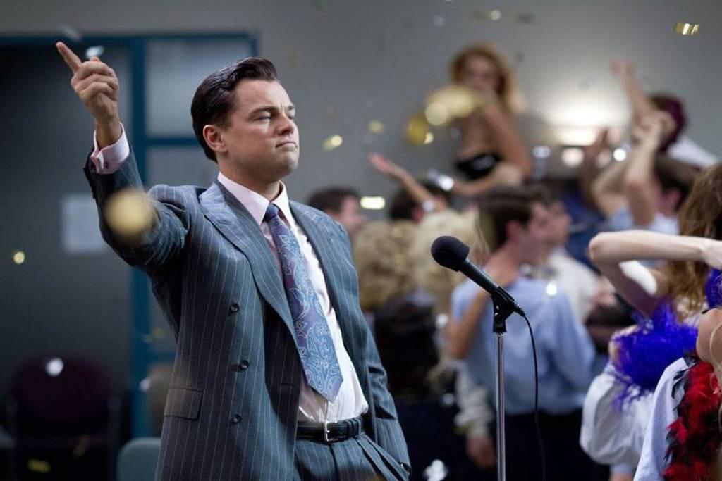 """Una scena di """"The Wolf of Wall Street"""""""