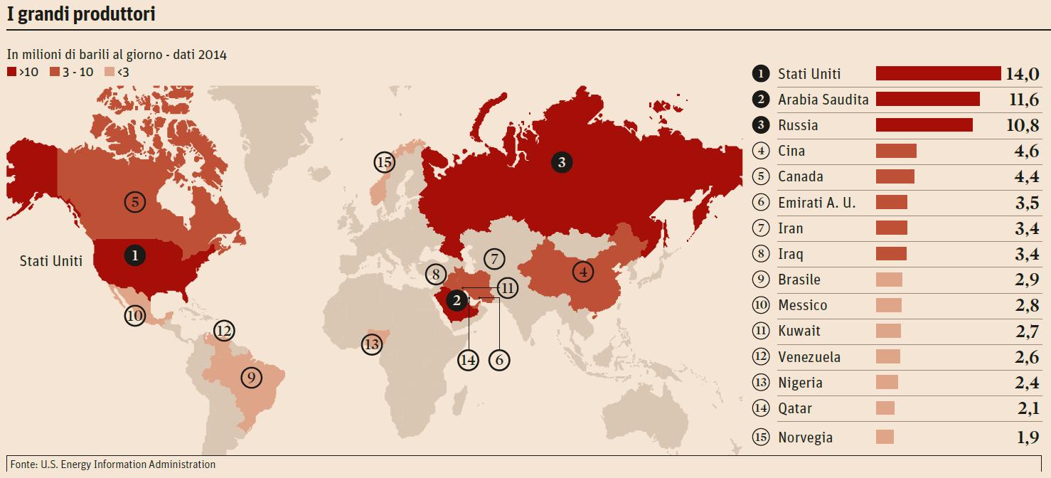 mappa-petrolio-paesi-produttori
